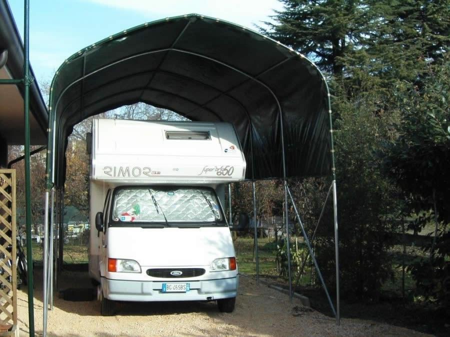 nuova copertura per camper agri ponte